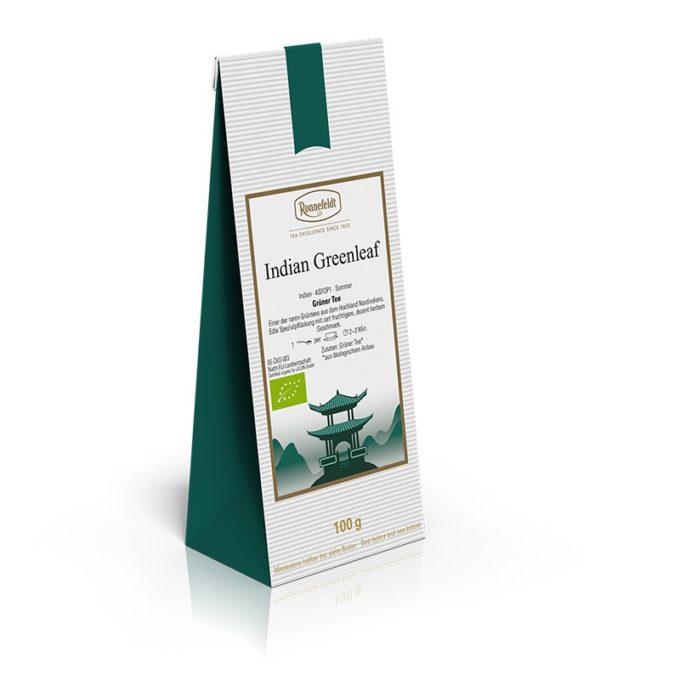 244 37341 indian greenleaf bio 680x680 - Ronnefeldt, Grüner Tee aus aller Welt