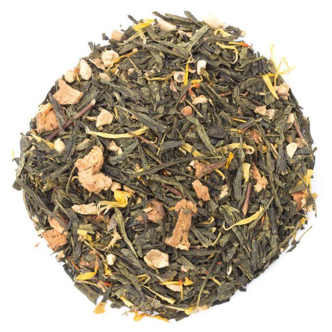 252 37471 ginger twist lose 680x680 - Ronnefeldt, Grüner Tee aromatisiert