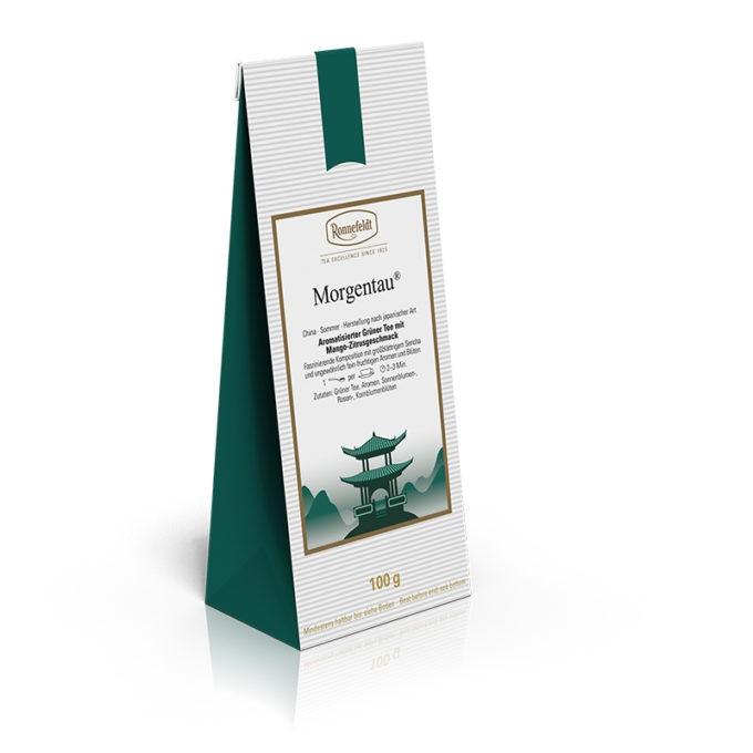 37031 Morgentau 680x680 - Ronnefeldt, Grüner Tee aromatisiert