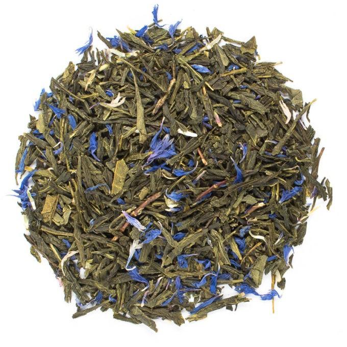37491 Sencha Earl Grey lose 680x680 - Ronnefeldt, Grüner Tee aromatisiert