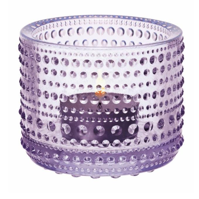 kastehelmi windlicht lavender 680x680 - iittala Kastehelmi, Windlicht