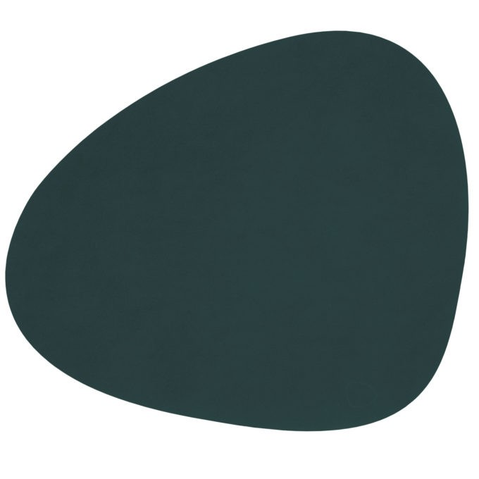 lind Curve dark green 680x680 - LIND DNA, Tischset Curve