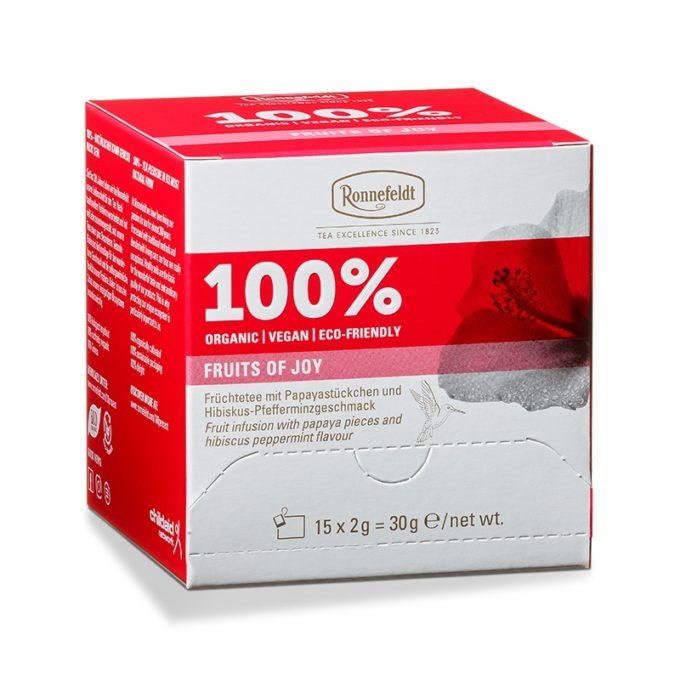 Ronnefeldt 100% Aufgussbeutel - Fruits of Joy